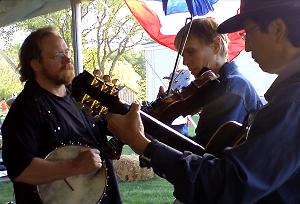 banjo fiddle guitar band